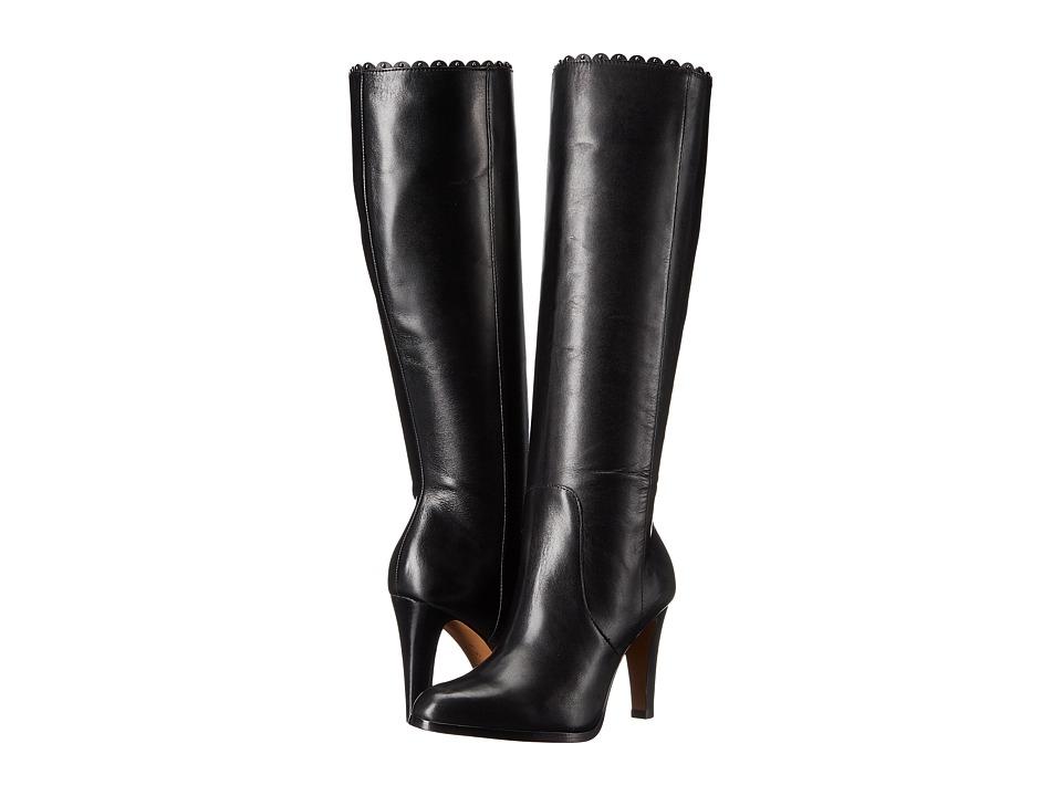 COACH - Jade (Black Soft Shine Calf) Women's Shoes
