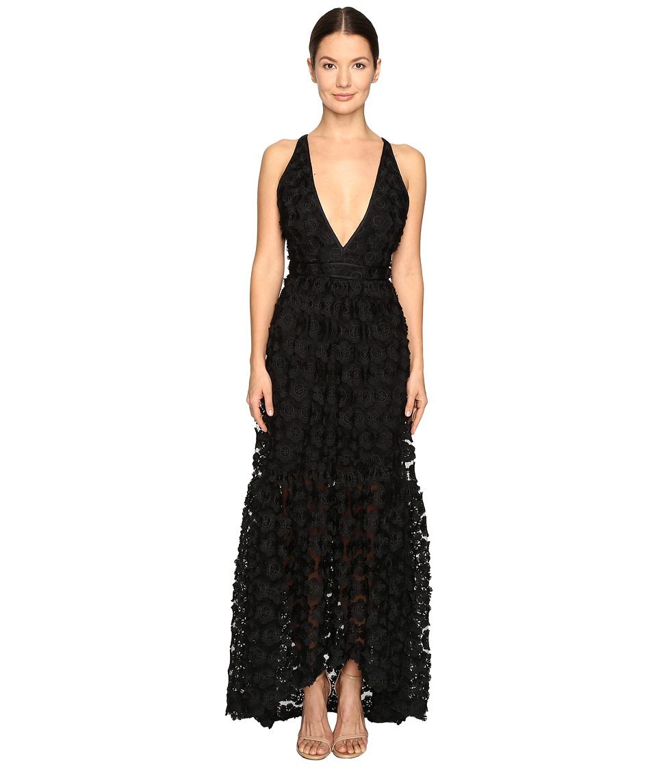 ZAC Zac Posen - Melissa Gown (Black) Women's Dress