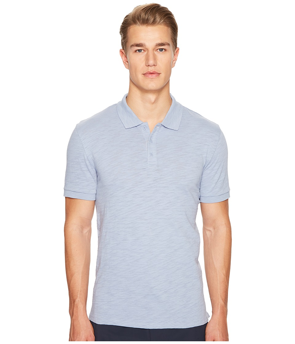 Vince - Classic Slub Polo (Hazy Skies) Men's Clothing