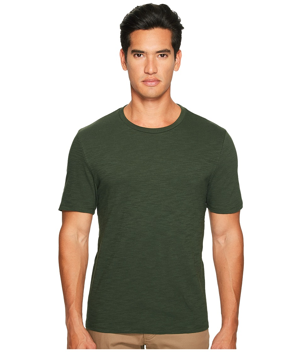 Vince - Classic Slub Crew Neck T-Shirt (Hunters Green) Men's T Shirt