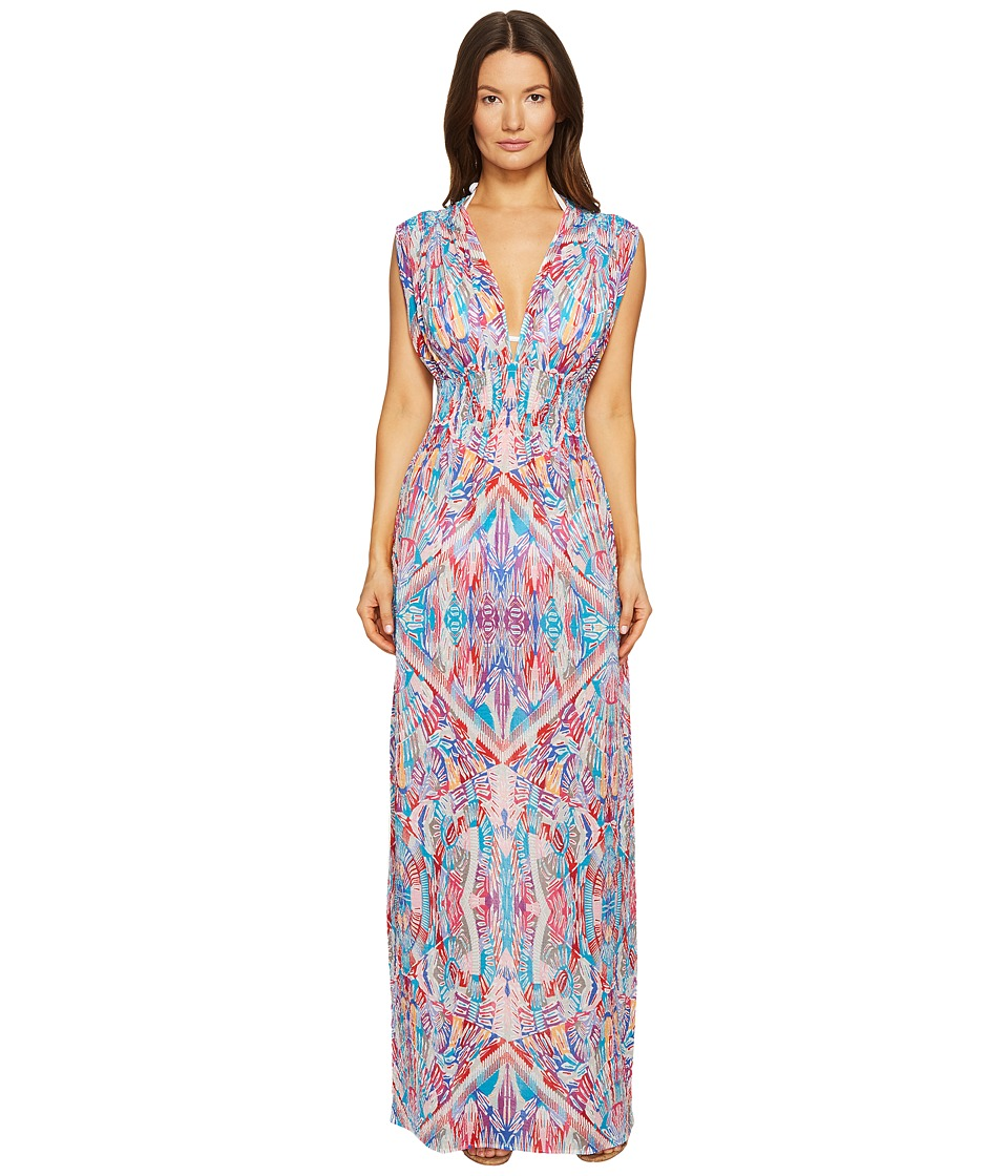 La Perla - Free Spirit Long Dress (Mosaic Print) Women's Swimwear