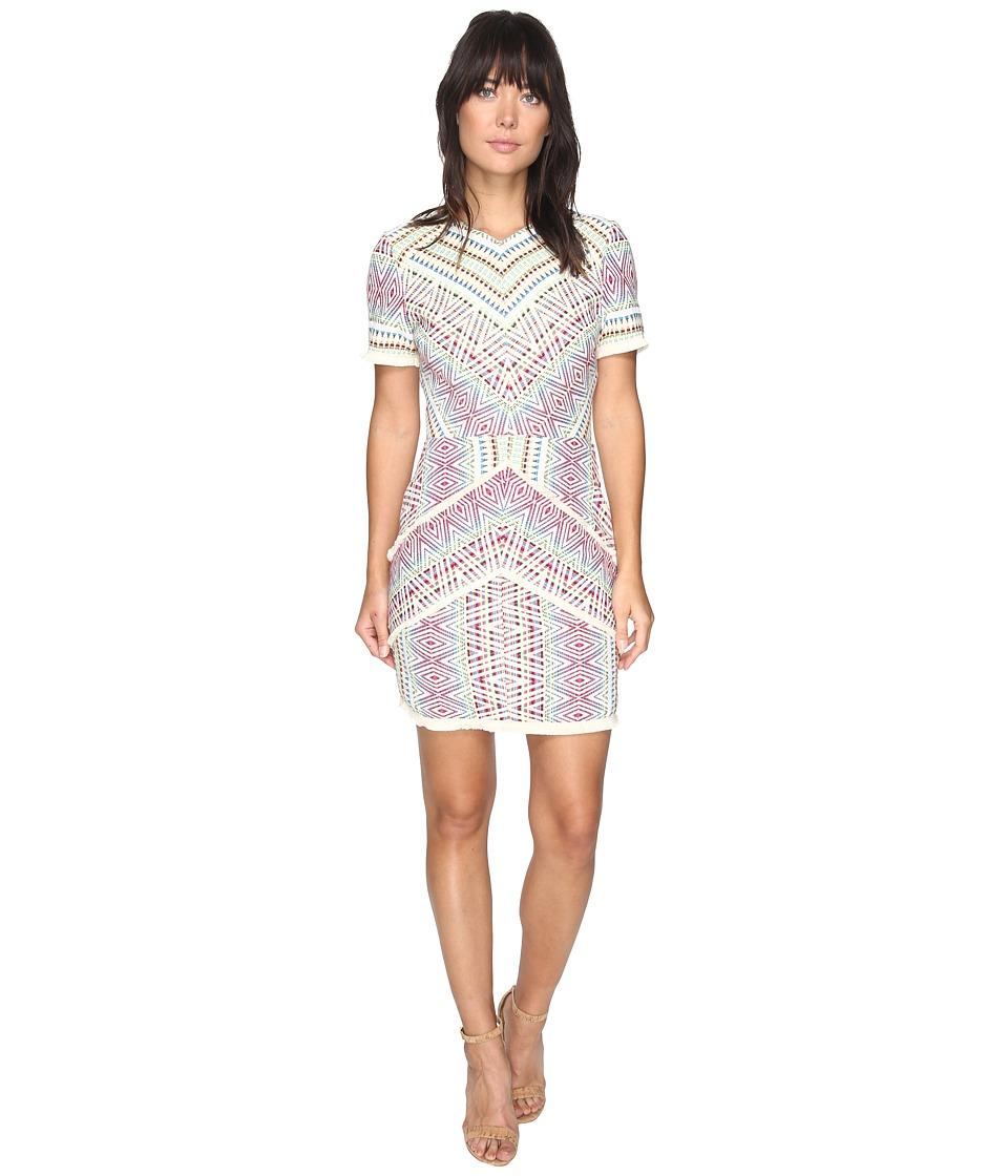 Adelyn Rae Jaylene Woven Jacquard Dress (Multi) Women