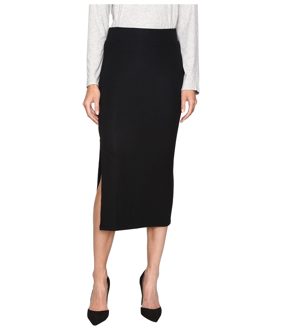 ATM Anthony Thomas Melillo - Rib Skirt (Black) Women's Skirt