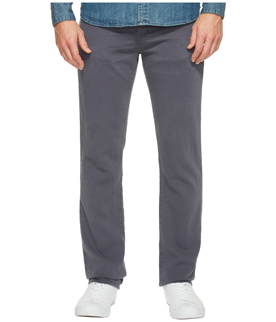 J Brand - Kane Straight Leg French Terry in Keckley Soot (Keckley Soot) Men's Jeans