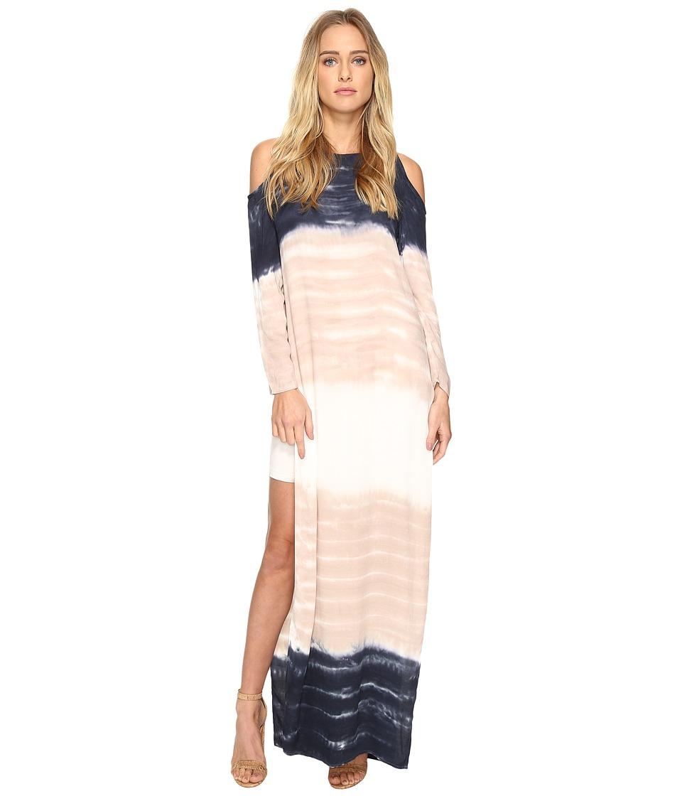 Young Fabulous & Broke - Mischa Dress (Charcoal Water Ripple) Women's Dress