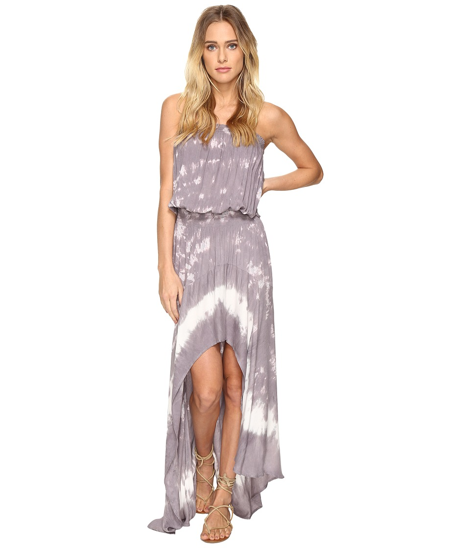 Young Fabulous & Broke - Kylie Dress (Grey Border) Women's Dress