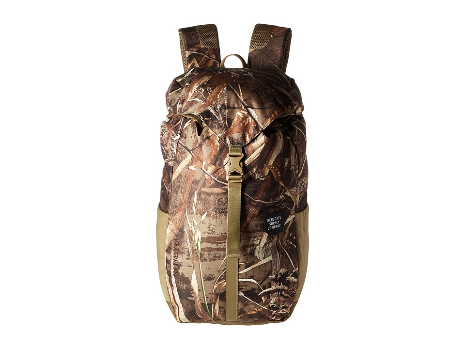 Herschel Supply Co. - Barlow Medium (Real Tree) Backpack Bags