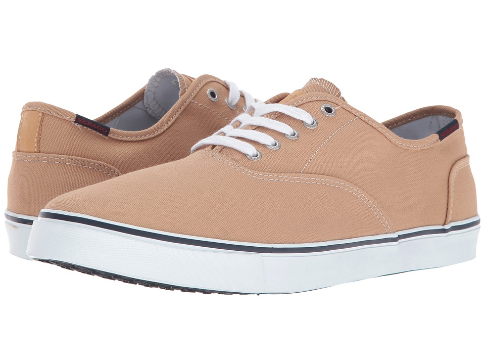 Sebago - Nolan Lace-Up (Tan Canvas) Men's Lace up casual Shoes