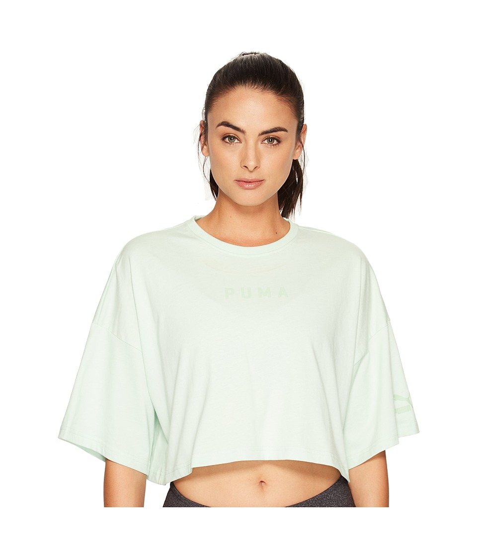PUMA - Xtreme Cropped Top (Spray) Women's Short Sleeve Pullover