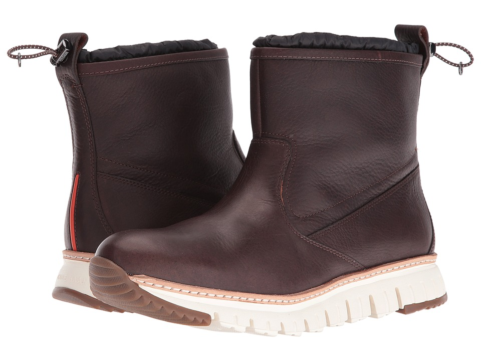 Cole Haan Zerogrand Pull-On Boot (Chestnut Leather) Men