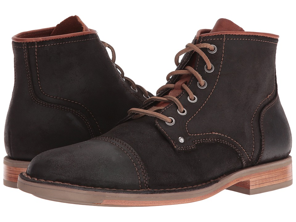Cole Haan Weston Lace Boot (Java Waxy Suede) Men