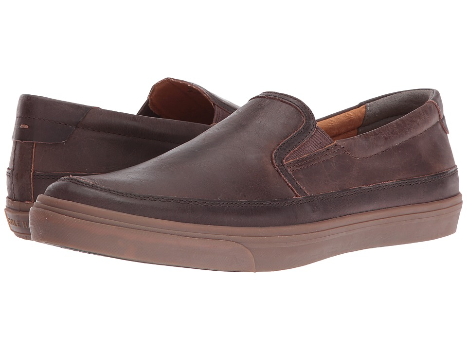 Cole Haan - Ricta Slip-On II (Dark Roast) Men's Shoes