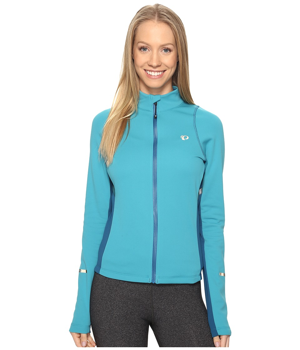 Pearl Izumi - SELECT Escape Thermal Jersey (Pagoda Blue/Moroccan Blue) Women's Workout