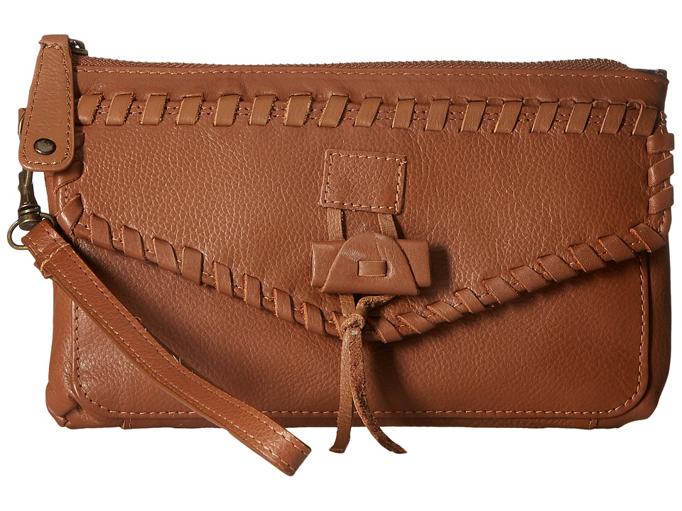 Lucky Brand - Chimayo Wristlet (Cognac) Wristlet Handbags