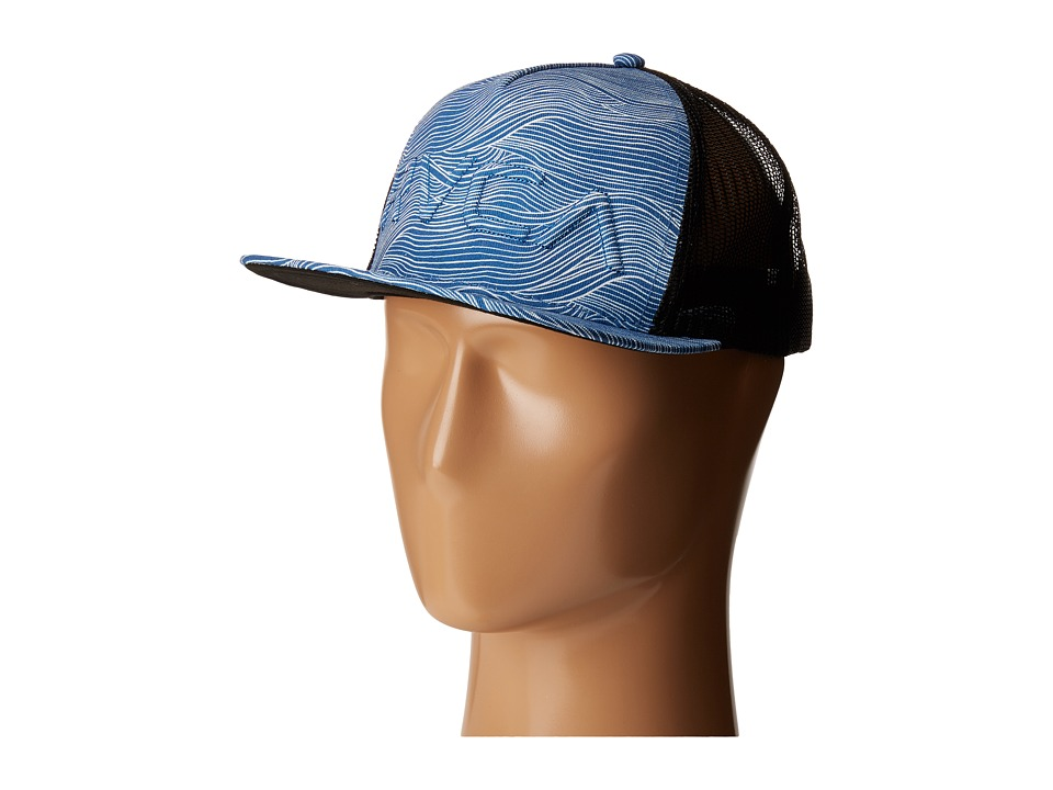 RVCA - Sameness Trucker Hat (Blue) Caps
