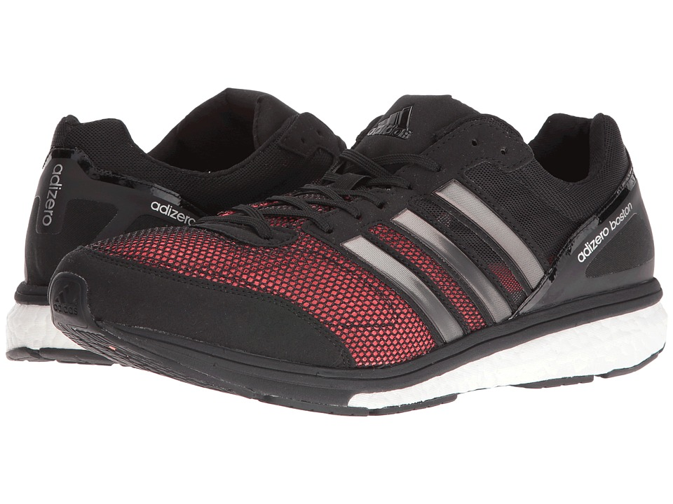 adidas - Adizero Boston 5 (Black/Silver Metallic/White) Men's Shoes