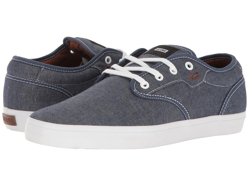 Globe - Motley (Dark Blue/White) Men's Skate Shoes