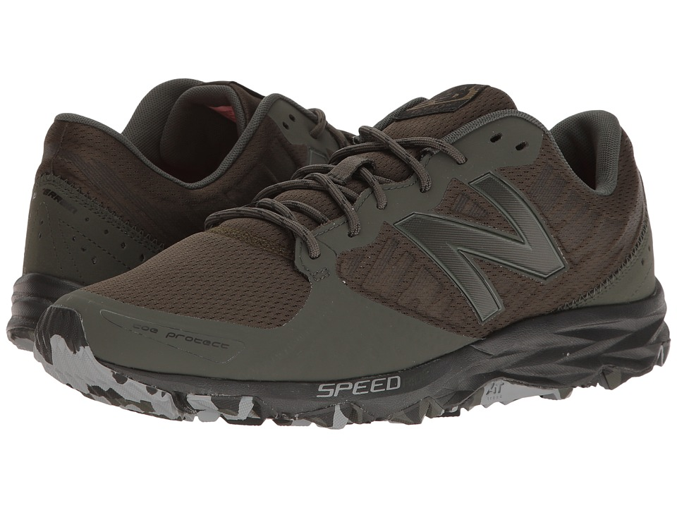New Balance - T690v2 Speed Ride (Gunmetal/Outerspace/Alpha Orange) Men's Running Shoes
