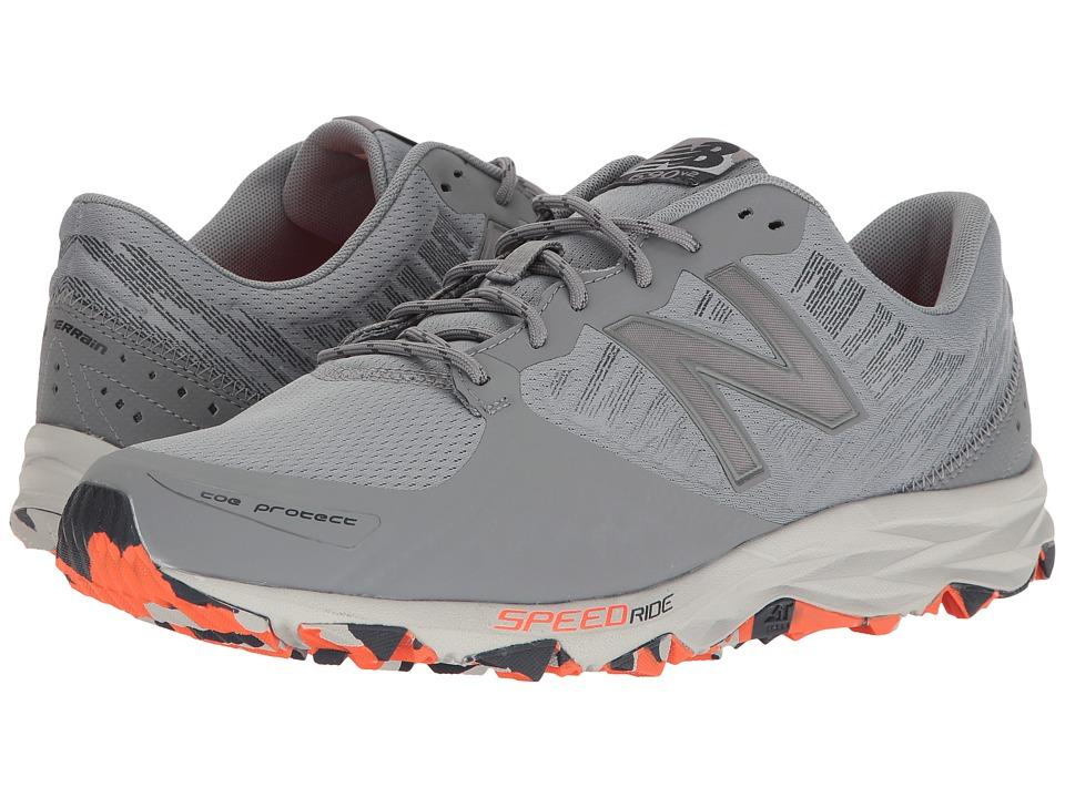 New Balance - T690v2 Speed Ride (Gunmetal/Outerspace/Alpha Orange) Men's Running Shoes