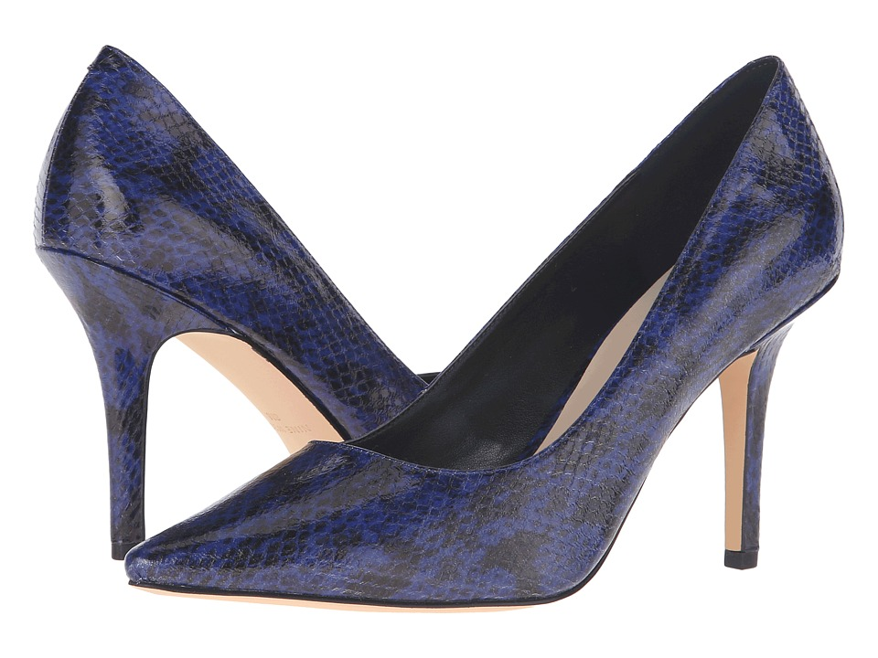 Nine West - Jackpot (Blue Synthetic) High Heels