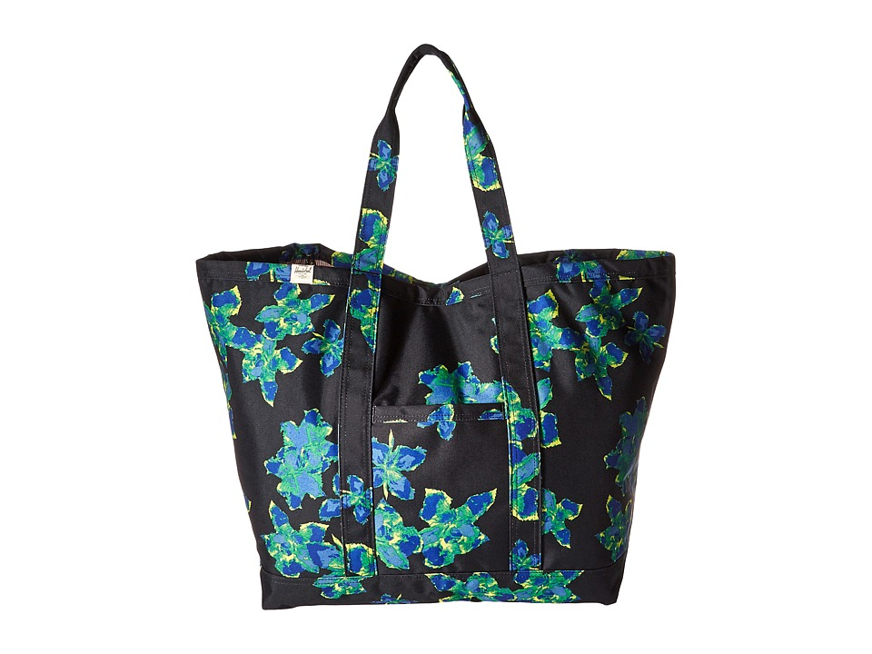 Herschel Supply Co. - Bamfield (Neon Floral) Tote Handbags