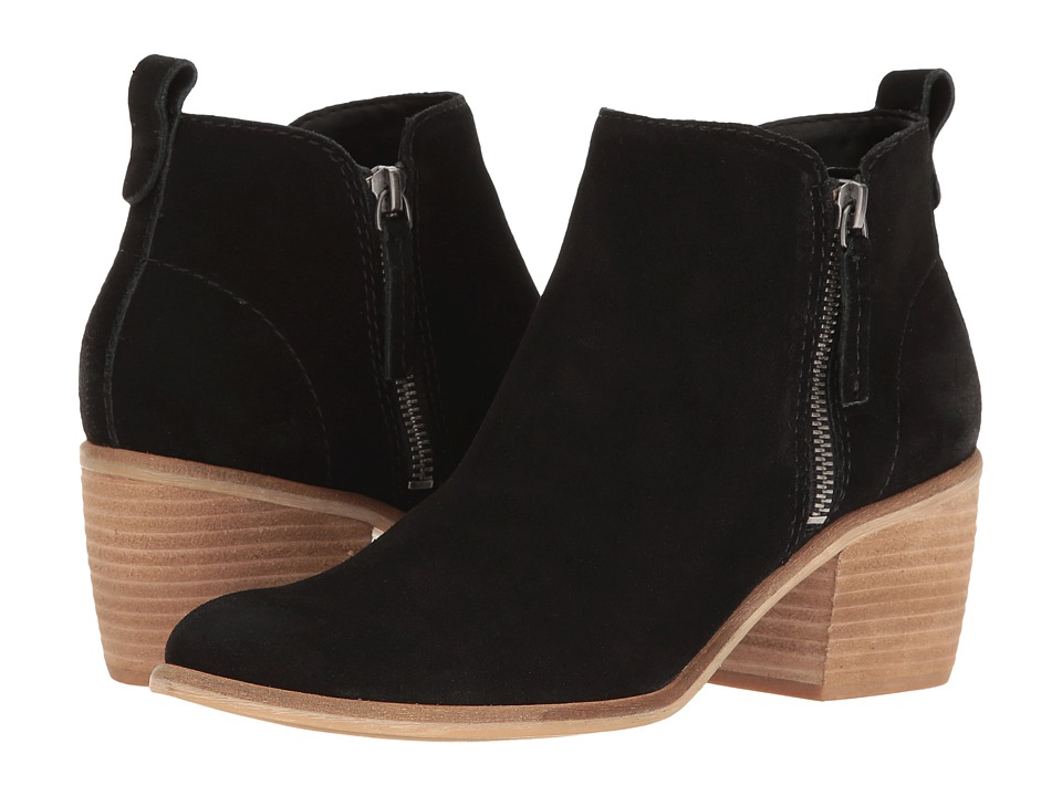 Dolce Vita - Shawn (Black Suede) Women's Shoes