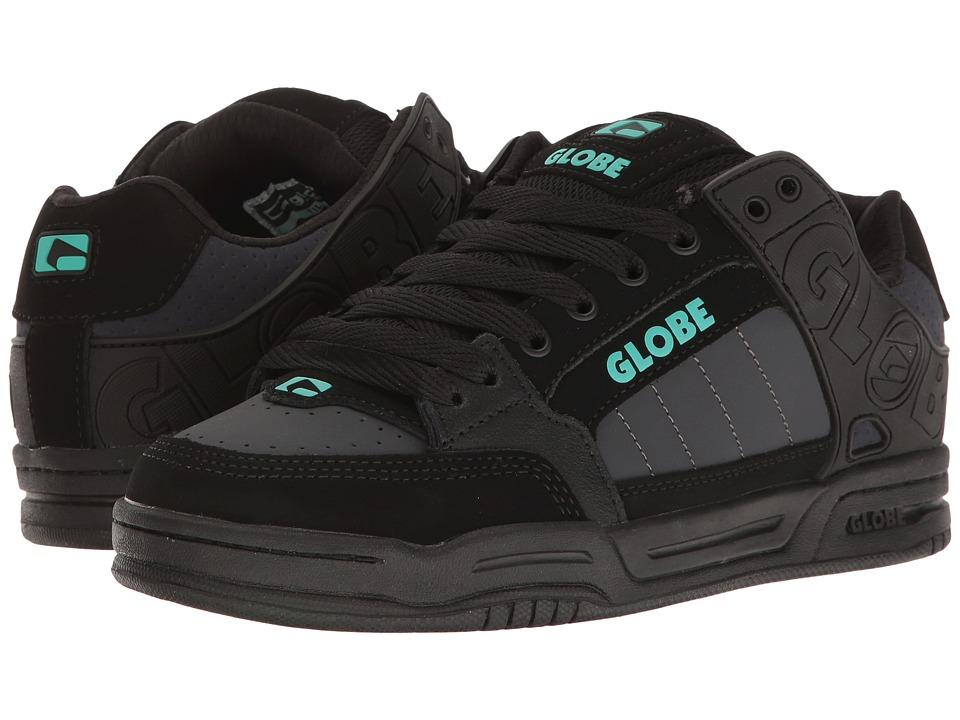 Globe - Tilt (Black/Ebony/Teal) Men's Skate Shoes