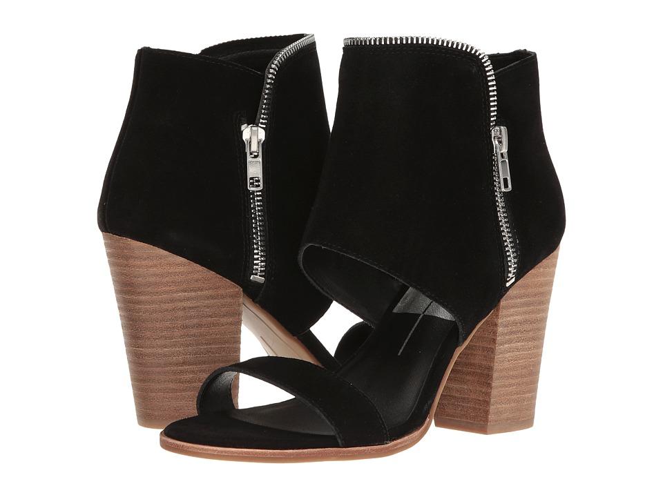 Dolce Vita - Park (Black Suede) Women's Shoes