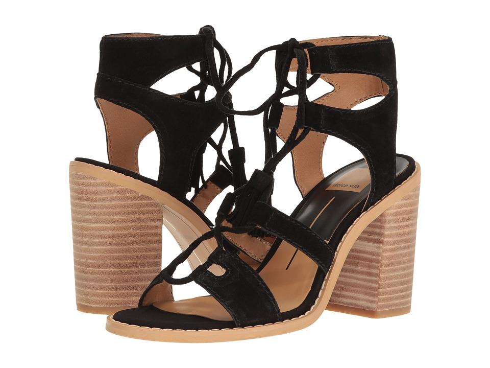 Dolce Vita - Larsa (Black Suede) Women's Shoes