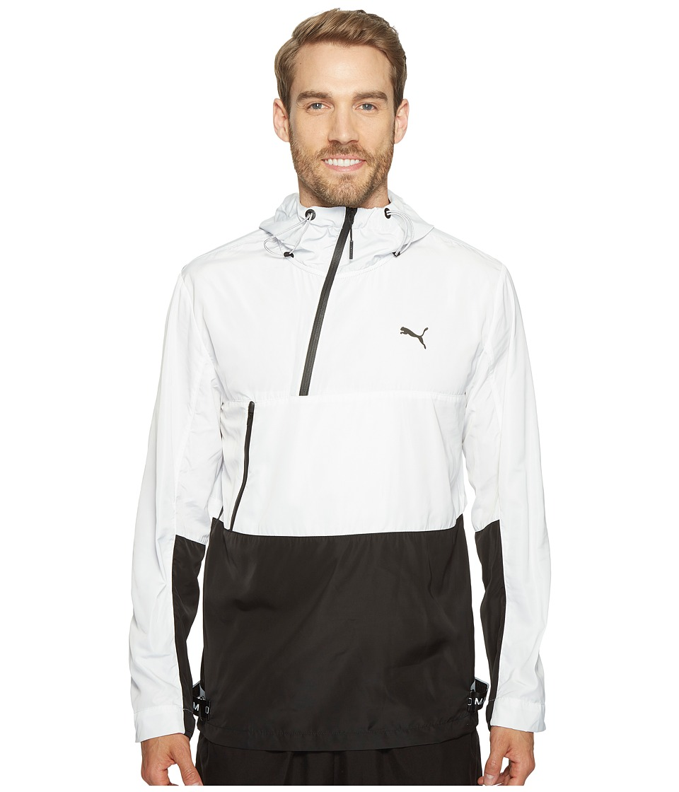PUMA - Evo Tech Windbreaker (PUMA White) Men's Coat