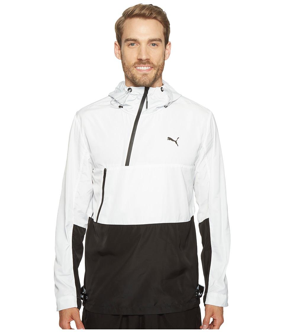 PUMA - Evo Tech Windbreaker (PUMA White) Men's Coat