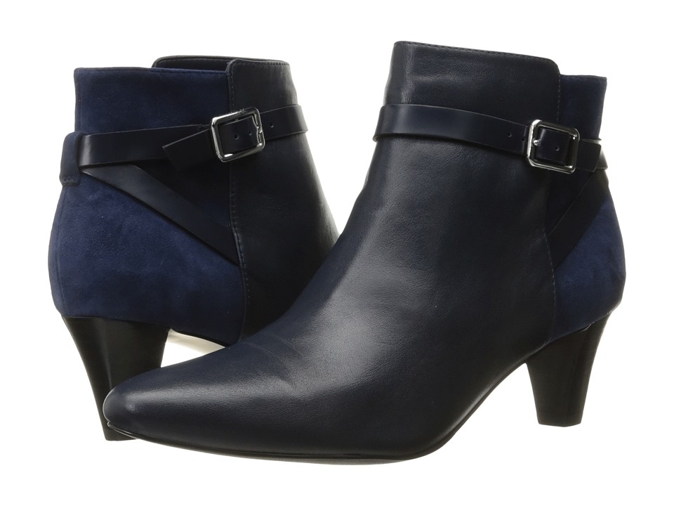 Cole Haan - Sylvan Bootie (Blazer Blue Leather) Women's Boots