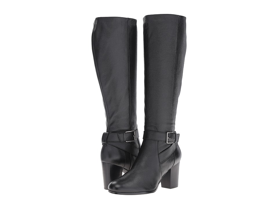 Cole Haan Hinckley Boot II (Black Leather) Women