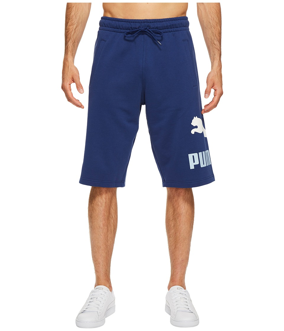 PUMA - Archive Logo Sweat Bermudas (Twilight Blue) Men's Shorts