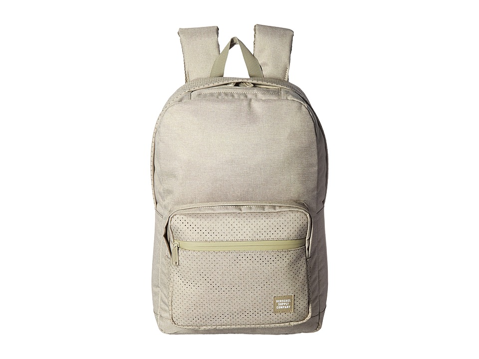Herschel Supply Co. - Pop Quiz (Dark Khaki Crosshatch) Backpack Bags