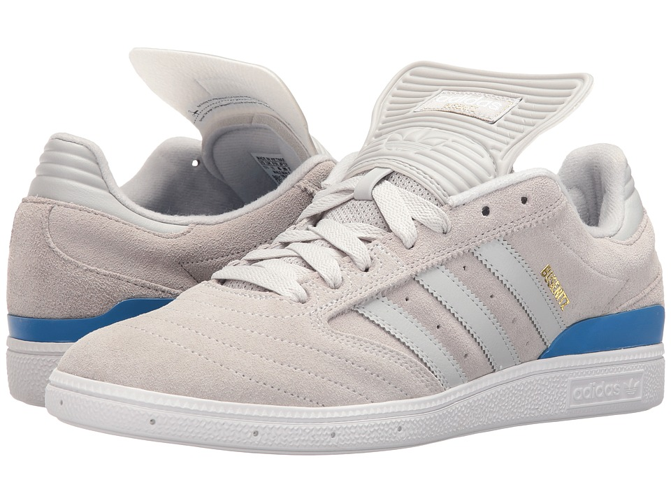 adidas - Busenitz (Solid Grey/Solid Grey/Bluebird) Men's Shoes