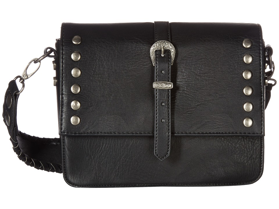 Steve Madden - BSera Structured Crossbody (Black) Cross Body Handbags