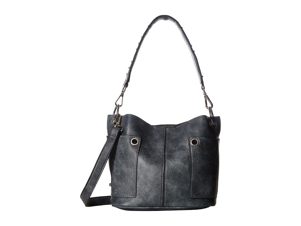 Steve Madden - Mini BFawnie Studs Crossbody (Denim) Cross Body Handbags