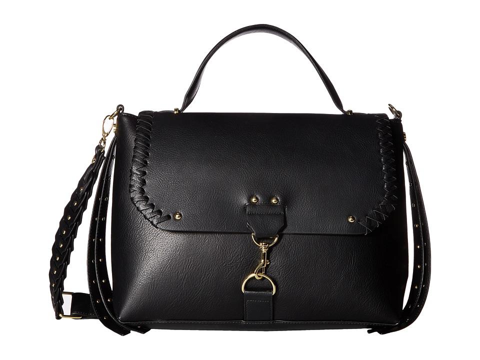 Steve Madden - BNorris Top-Handle Crossbody (Black) Cross Body Handbags