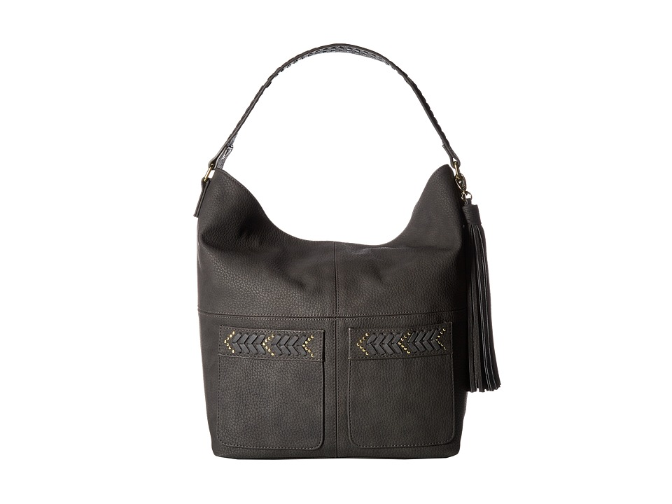 Steve Madden - BCarlson Hobo (Charcoal) Hobo Handbags