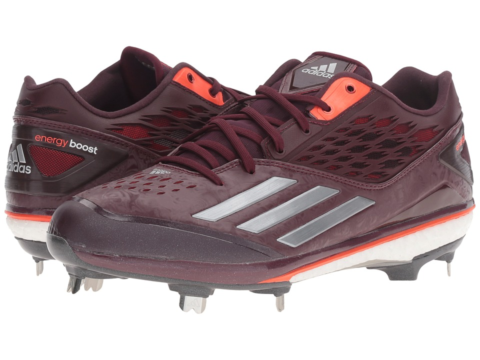 adidas - Energy Boost Icon (Maroon/Tech Green Metallic/Solar Red) Men's Shoes