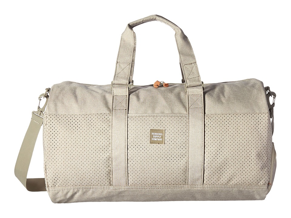 Herschel Supply Co. - Novel (Dark Khaki Crosshatch) Duffel Bags