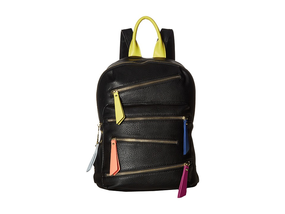 Steve Madden - BWebber Mini Tassels Backpack (Black) Backpack Bags