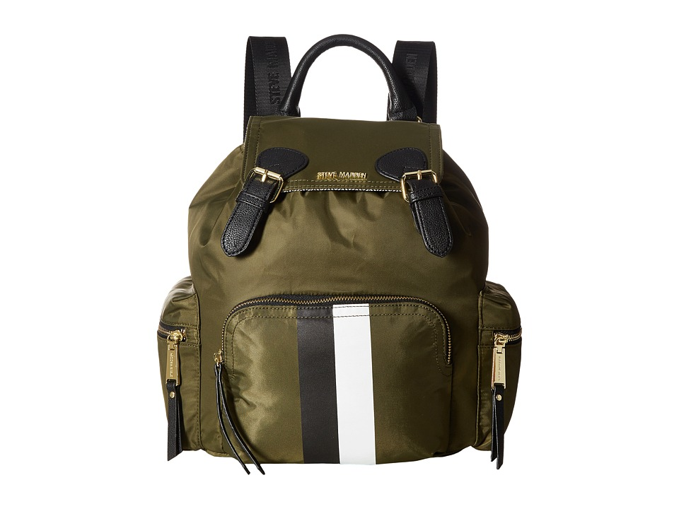 Steve Madden - BFoxx Nylon Backpack (Olive/Black) Backpack Bags