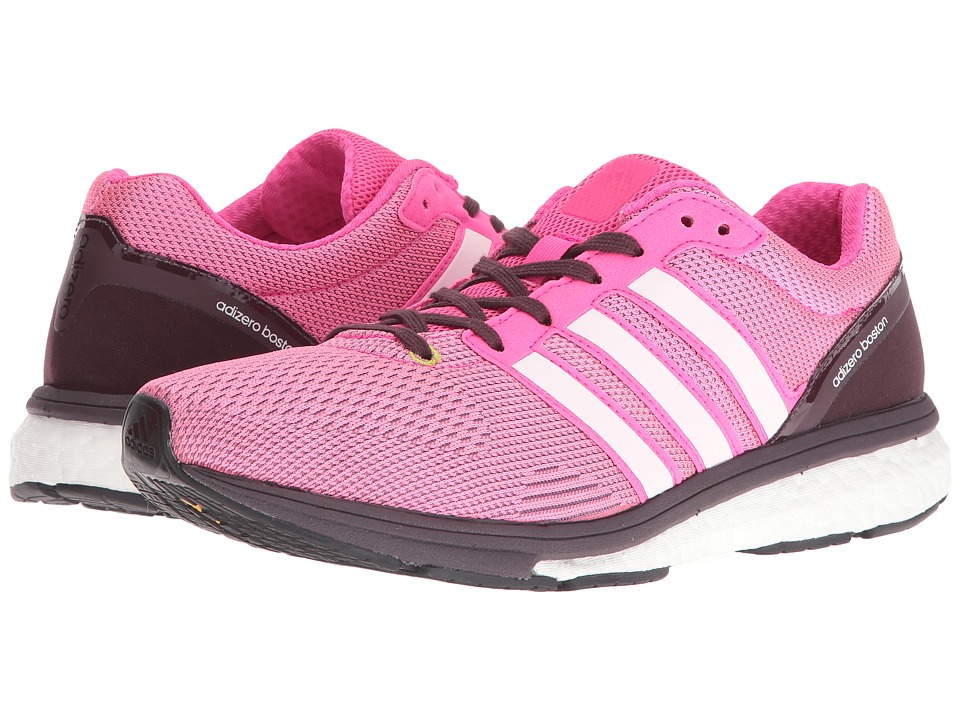 adidas - adizero Boston 5 TSF (Mineral Red/Shock Pink/Bold Onix) Women's Shoes