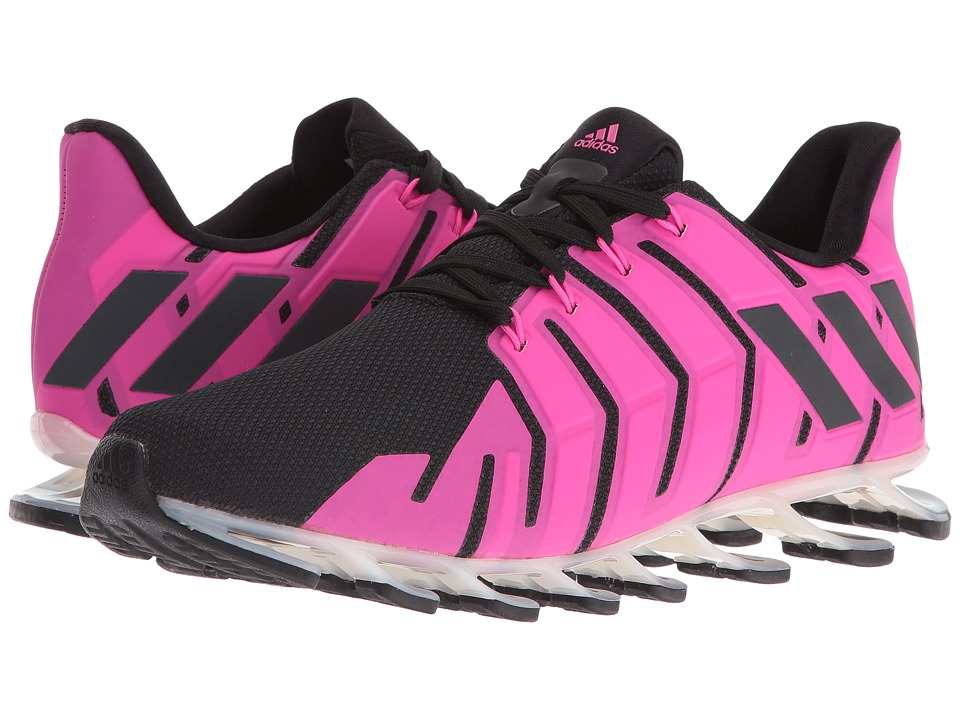 adidas - Springblade Pro (Black/Dark Grey/Shock Pink) Women's Shoes