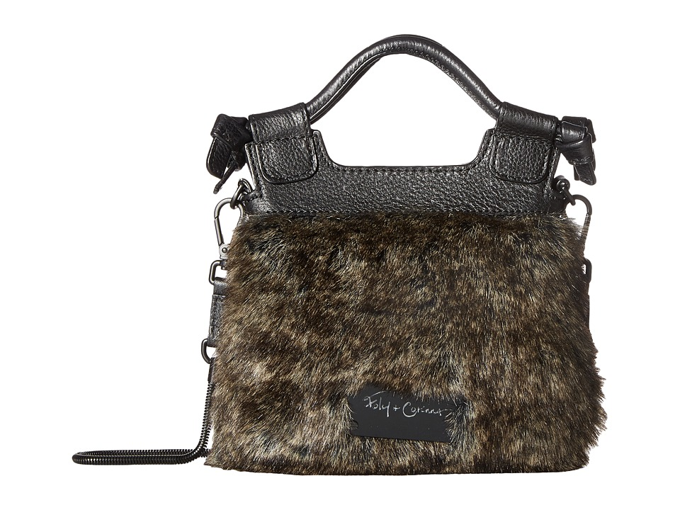 Foley & Corinna - Pheobe Tiny City Crossbody (Natural Fur) Cross Body Handbags