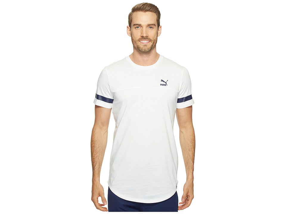 PUMA - Future Graphic Tee (PUMA White) Men's T Shirt