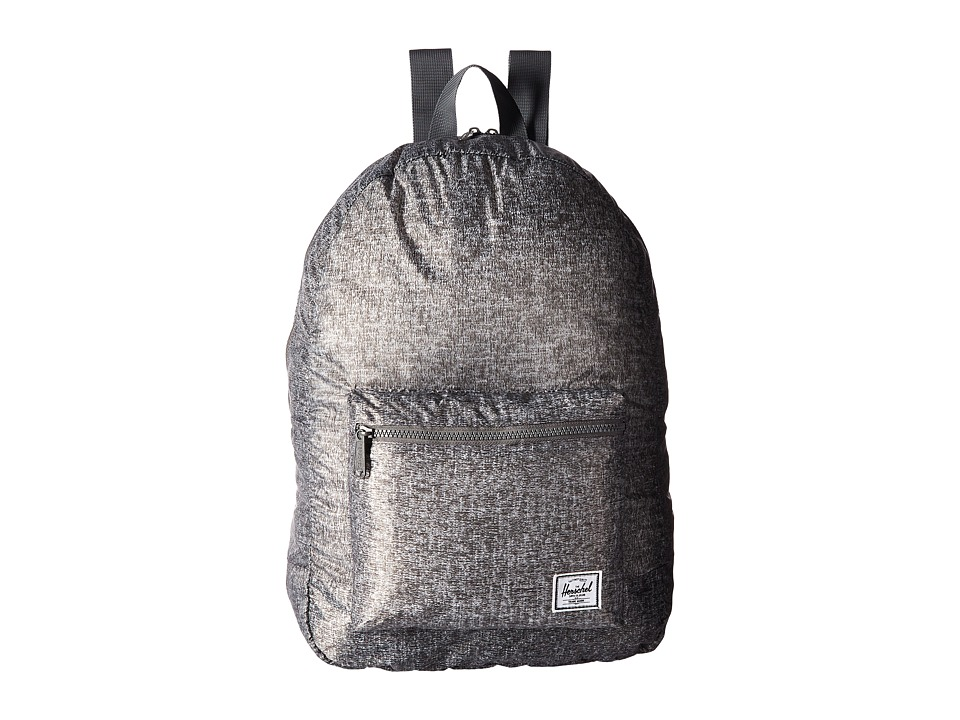 Herschel Supply Co. - Packable Daypack (Raven Crosshatch 2) Backpack Bags
