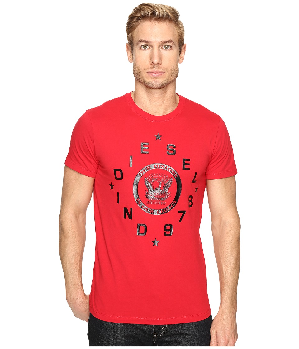 Diesel - T-Diego-HE T-Shirt (Red) Men's T Shirt